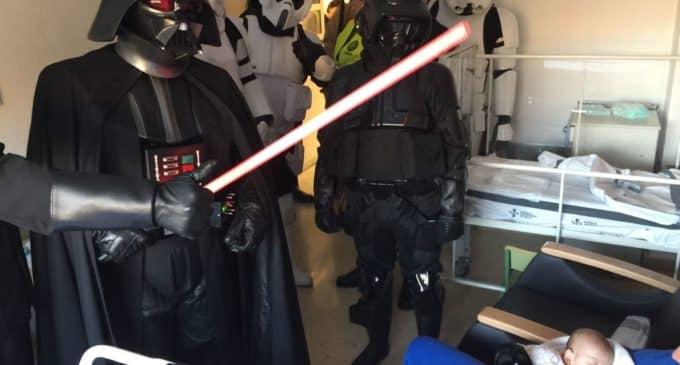La Fuerza visita el Hospital de Elda