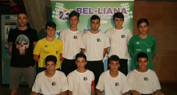 El primer equipo Bel-liana F.S. continúa la racha de victorias en su categoría
