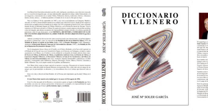 Reedición del Diccionario Villenero de José María Soler