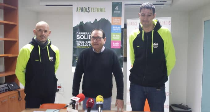 Apadis Tetrail organiza una carrera y marcha solidaria por Peña Rubia