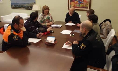 Instauran en Alcaldía de Villena un Puesto de Mando Avanzado para coordinar las emergencias