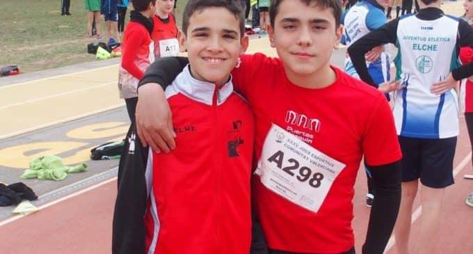 Miguel Pérez y Andrés Seda clasificados para el Campeonato Autonómico Infantil