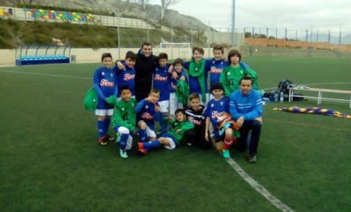 Victoria de los equipos Alevines y derrota del Femenino y el Villena B