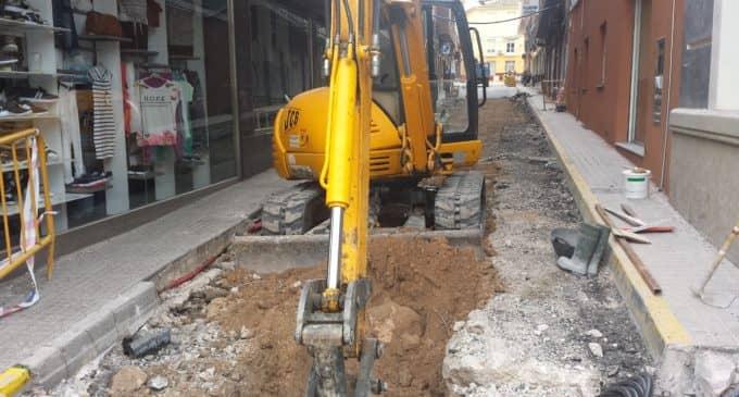 Villena inicia la reurbanización de tres zonas de la población