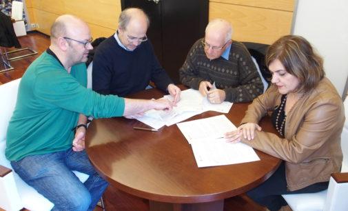 El Ayuntamiento firma un convenio con la Fundación Sanamente