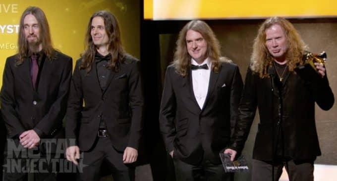 Megadeth se lleva el Grammy a la Mejor Actuación de Metal