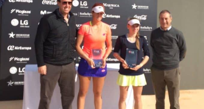 Tita Torró gana un nuevo torneo en individuales y dobles