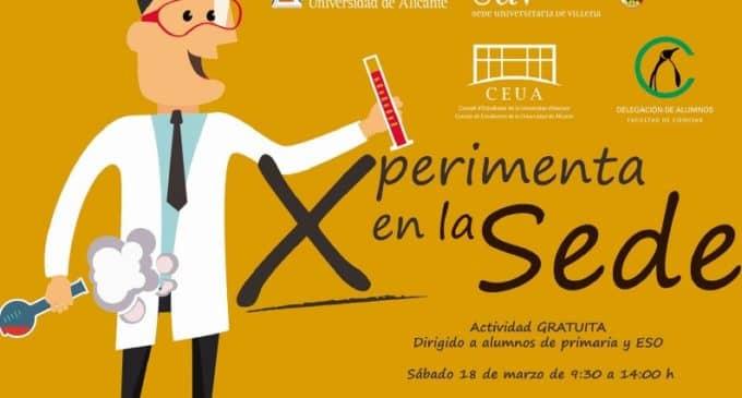 La Sede Universitaria de Villena organiza la jornada Xperimenta