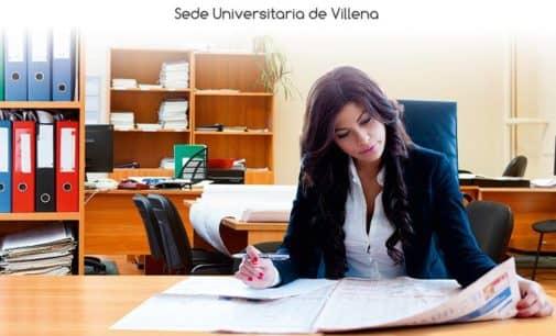 """La Sede Universitaria de Villena organiza el curso """"Emprendimiento y empoderamiento de mujeres favoreciendo capacidades para el desarrollo socioeconómico local"""""""