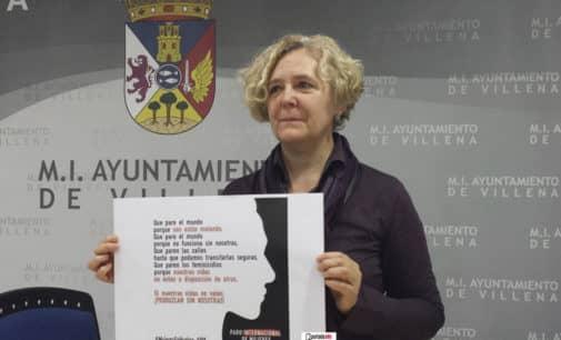 La concejalía de Igualdad se suma a la propuesta de paro mundial contra los asesinatos machistas