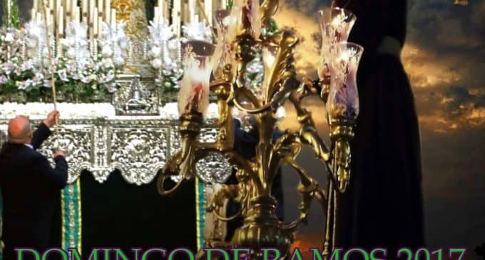 Recorrido Procesión Domingo de Ramos Villena 2017 Hermandad Amor y Esperanza