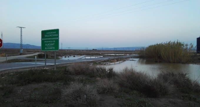 El PP solicita la adecuación de los terrenos inundados en la carretera de Caudete