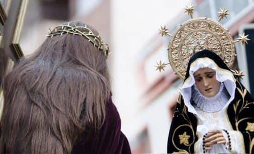 La Cofradía Ntra. Sra. de La Soledad de Villena bendecirá el nuevo manto el domingo 2 de abril