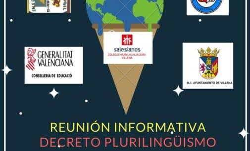 El Ayuntamiento convoca a los padres a una reunión para abordar el modelo lingüístico educativo valenciano