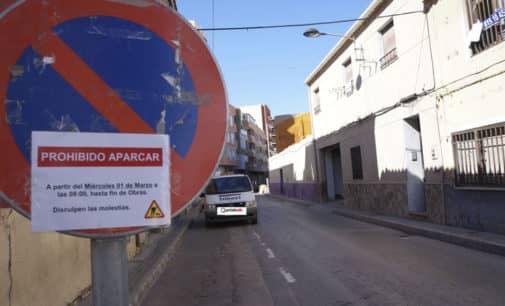 Villena corta al tráfico la calle Nueva por un periodo de cuatro meses