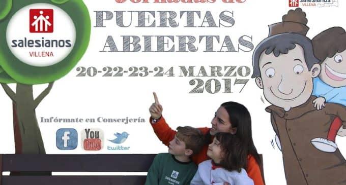 Jornadas de Puertas Abiertas Salesianos Villena 2017