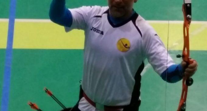 El arquero, Camilo Huesca, bronce en el campeonato de España de tiro