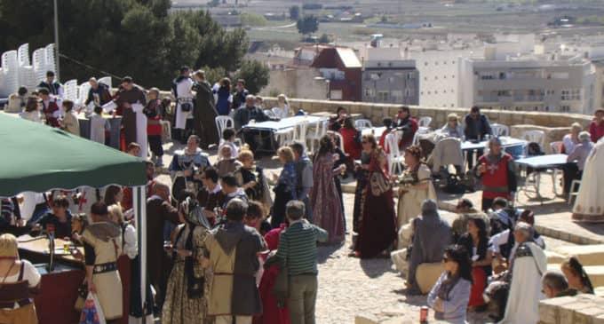El Castillo de Villena incrementa la actividad durante las Fiestas del Medievo
