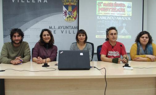 Raimundo Amador encabeza el cartel de la XII Noche  Étnica Mestizaje Somos Anti Xenofobia de Villena