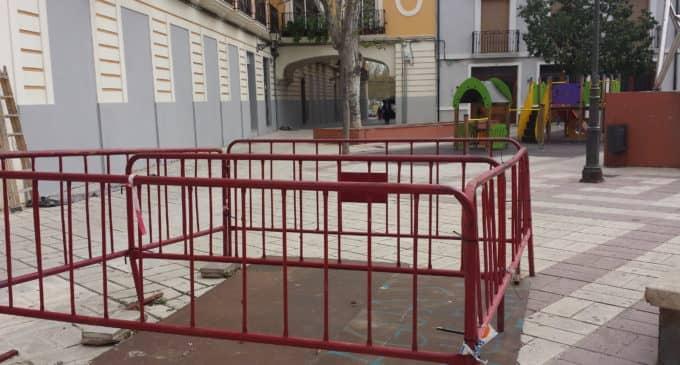 Diputación iniciará las obras renovación de la red de saneamiento de la Plaza las Malvas