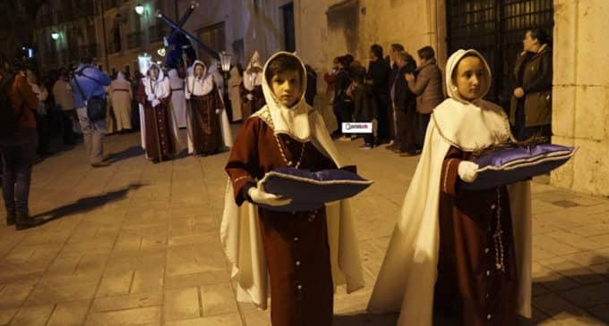 La Virgen de la Amargura y el Cristo de la Caída procesionaron en Villena