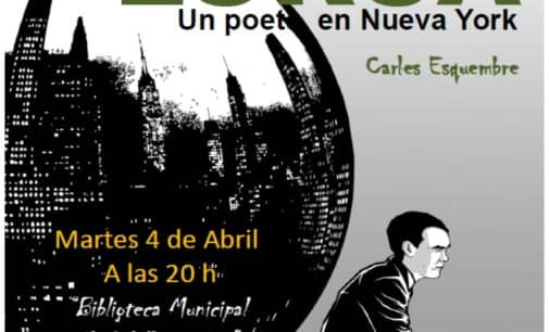 Presentación de la novela gráfica Lorca: un poeta en Nueva York