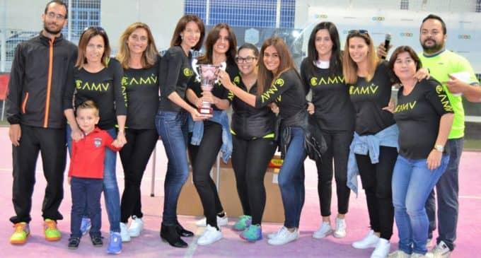 El equipo de pádel femenino del CAM Villenense, Campeón de la VII Liga provincial de Pádel por equipos ECOMM