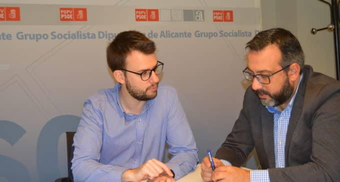 Diputación respalda la ampliación de la línea de cercanías entre Villena y Alicante