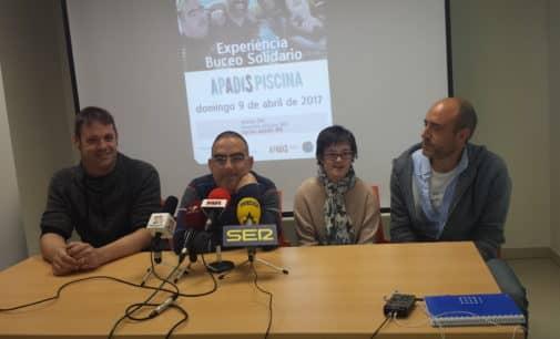 Apadis organiza una jornada de buceo solidario