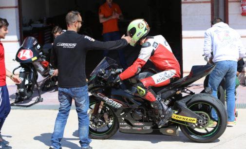 Coque López realiza el primer test con la Superstock en el circuito de Albacete