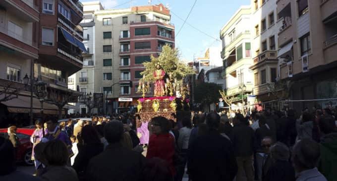 La Semana Santa comienza en Villena con el paso de tres imágenes