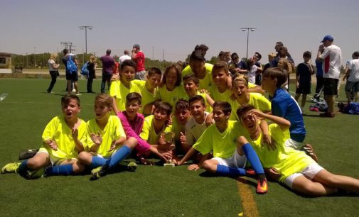 El Alevín A del Villena CF gana la  XXI Fiesta Fútbol 7 en Bañeres