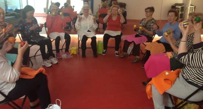 Éxito de la Gerontogimnasia en el Centro Deportivo Villena