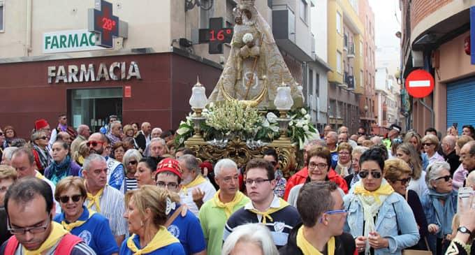 La Junta de la Virgen organiza un besamanos en el santuario