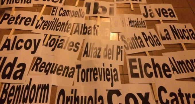 Las  Ampas públicas y privadas se suman a la manifestación enAlicante contra el decreto discriminatorio de Marzá