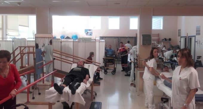 La Unidad de Fisioterapia del Hospital de Elda incrementa su actividad en un 20%
