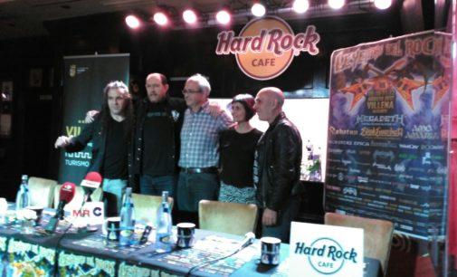 El  «Leyendas del rock» más internacional se consolida en Villena