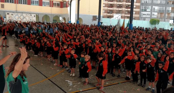 Quedan Inauguradas las Olimpiadas en Honor a Mª Auxiliadora