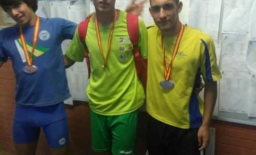El atleta, Daniel Pérez, subcampeón de  Decatlón en el Campeonato Nacional
