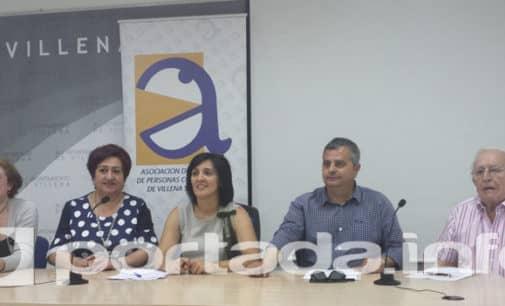 Villena Cuéntame entrega a la asociación de Alzheimer 4060 € en su acción solidaria anual