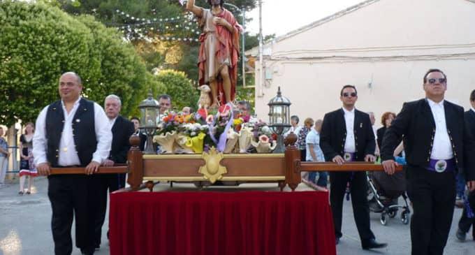 Fiestas en honor a San Juan Bautista en La Encina