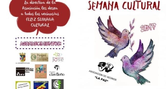 El barrio de La Paz inicia mañana viernes su semana cultural