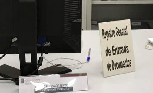 El PP denuncia la paralización del  Registro Municipal por falta de personal