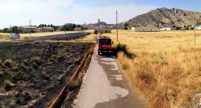 Nuevo incendio de matorral en Villena
