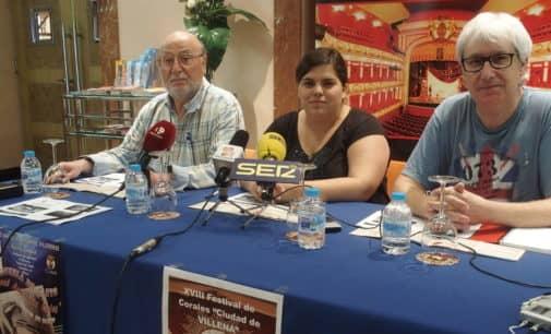 Más de un centenar de personas participarán en el festival  de corales Ciudad de Villena