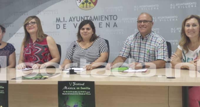 Cuatro sociedades musicales participarán en el V Festival de Música en Familia