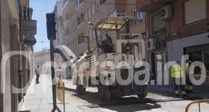 La avenida de Elche en Villena se cortará al tráfico mañana martes a partir de las 17 horas