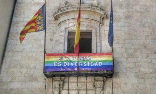 Villena apoya el Día  del Orgullo LGTBI