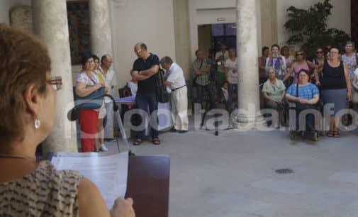 Reivindican en el Ayuntamiento de Villena el incremento presupuestario para acciones contra la violencia de género
