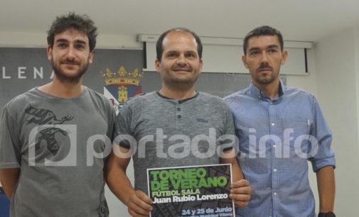 El polideportivo de Villena acogerá el Torneo de Fútbol Sala Juan Rubio Lorenzo